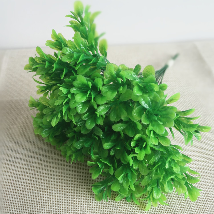 New Arrival Artificial Mini Milan Green grass Fake Plant for home decoration