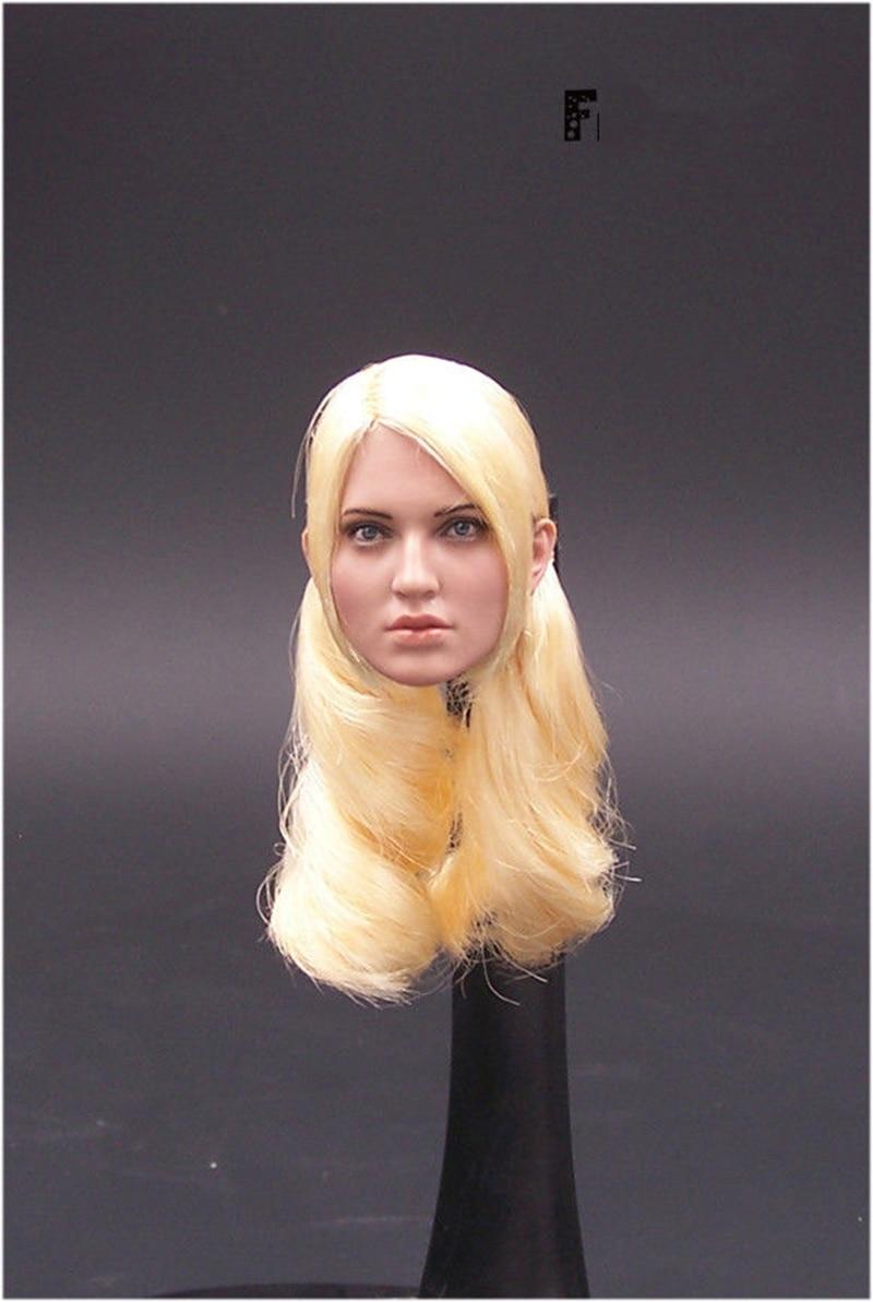 1/6 Sucker Punch Female Head Model for 12'' Female Bodies Figures цена 2017