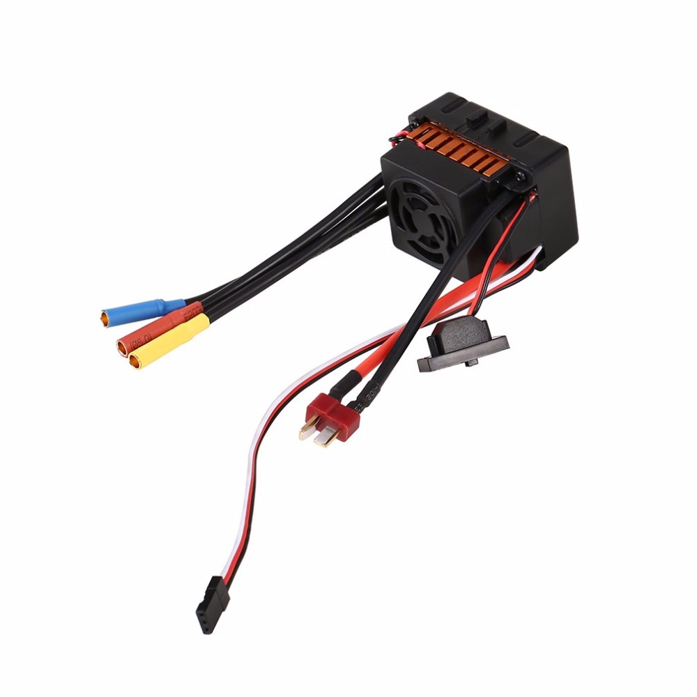 1pcs OCDAY Waterproof 60A Sensorless Brushless Car Electronic Speed Control ESC 30a esc welding plug brushless electric speed control 4v 16v voltage