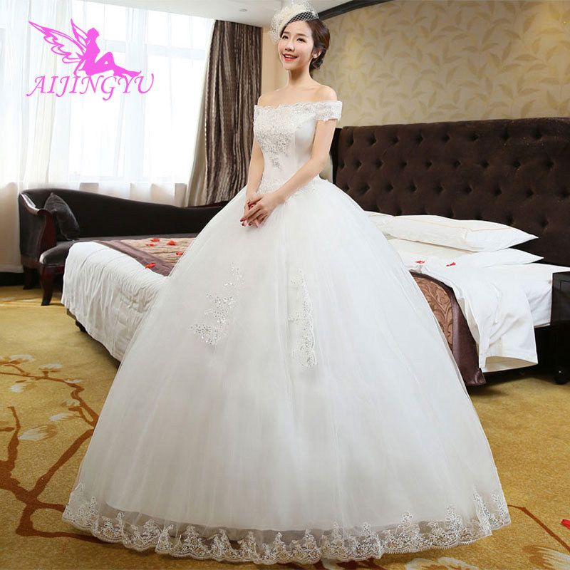 AIJINGYU long party for woman wedding dress lot bridal dresses 2018 WU282