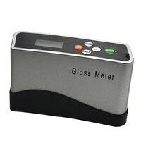 Alta precisão 0 150.0 gu glossmeter medidor de brilho digital tinta metal fotômetro telha pedra de bambu papel plástico brilho medidor|Med. brilho| |  -