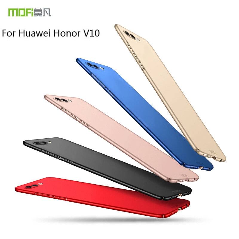 For HUAWEI honor V10 5.99 Case Cover Hard Back Cover Case MOFI For HUAWEI Honor V10 PC Case Protective Back phone Case cover image
