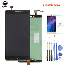 Xiaomi Mi Max LCD Display Touch Screen Digitizer Assembly For Xiaomi Mi Max LCDScreen Replacement Black White Gold недорго, оригинальная цена