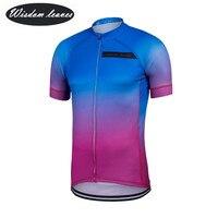 Wisdom leaves 2017 дизайнерский бренд для мужчин Профессиональный Велоспорт Джерси для женщин короткий рукав велосипед одежда команда мотоциклетн
