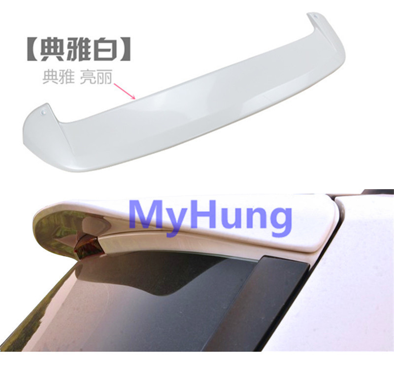 Car Spoiler ABS Primer Unpainted Factory Style Spoiler Rear Wing Spoiler for Ford Kuga Escape 2013 2014 2015 1pc per set unpainted rear roof lip spoiler wing for bmw e87 e81 2004 2011