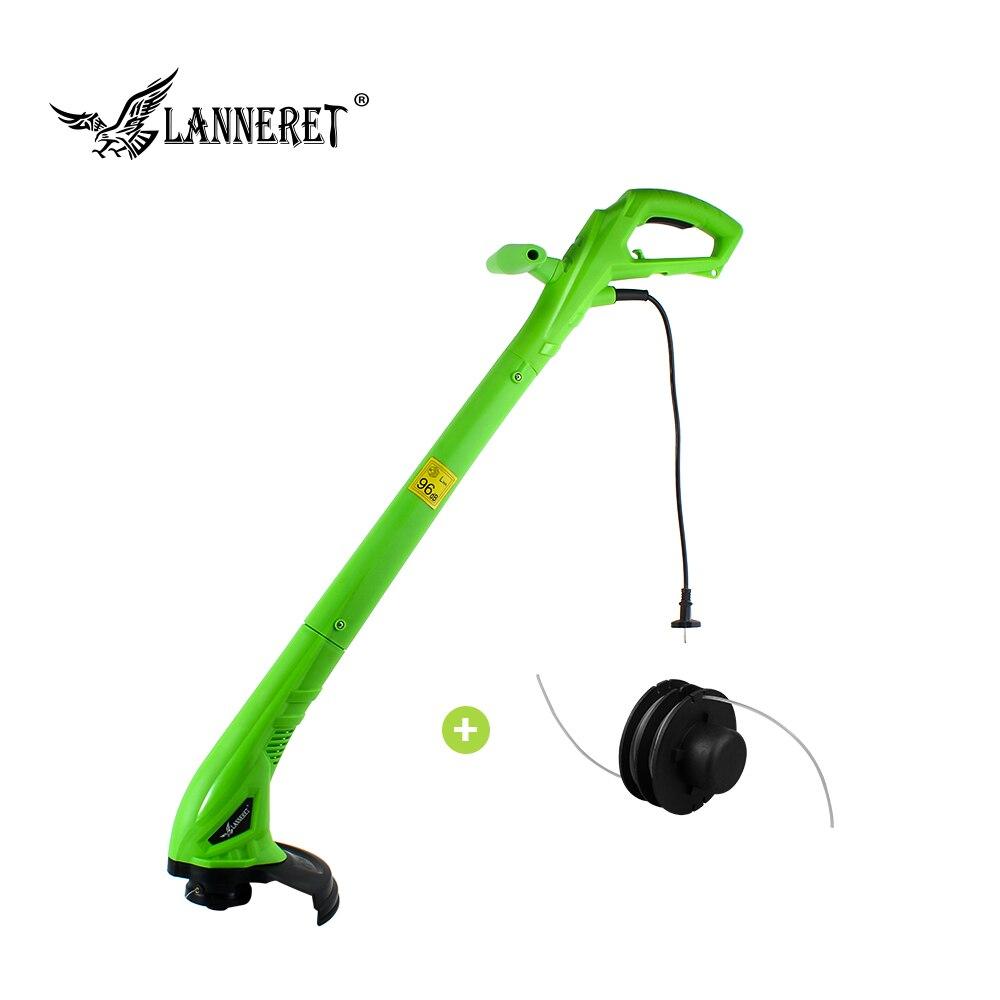 LANNERET 250 W 220mm AC Elektrische Gras Trimmer Hand Reiniger Gras Cutter Maschine Linie Trimmer für Bremse Demontage Garten werkzeuge