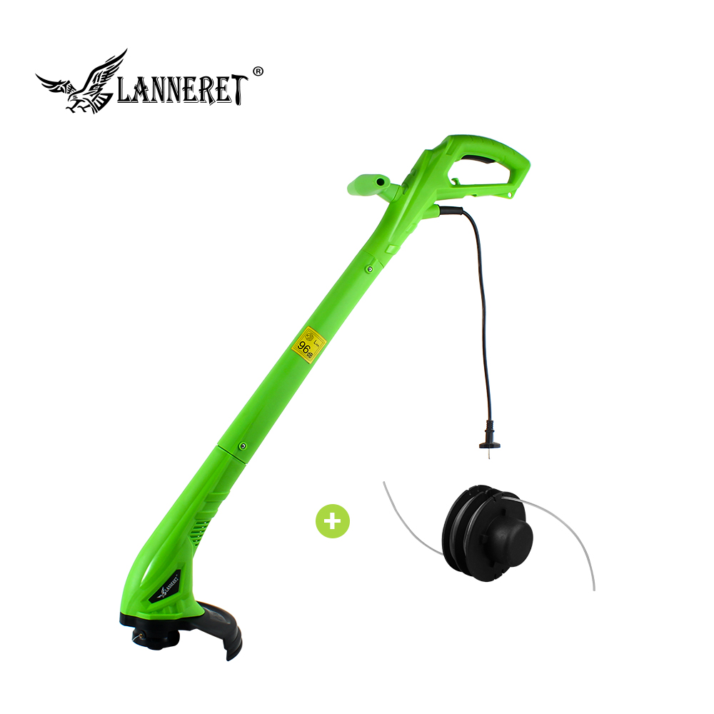 LANNERET 250W 220mm AC Electric Grass Trimmer Hand Cleaner Grass Cutter Machine Line Trimmer for Brake Disassembly Garden Tools stainless steel mowing knife sickle grass cutter garden agricultural hand tools