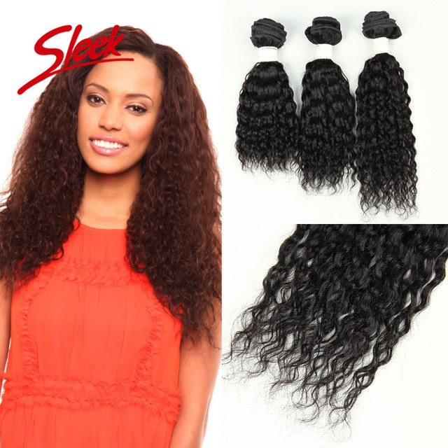 "Sleek Brazilian Kinky Curly Virgin Hair 3pc Full Head Set Hair Weaving Brazilian Curly Virgin Hair Bundles 9""&11""&13"" Human Hair"