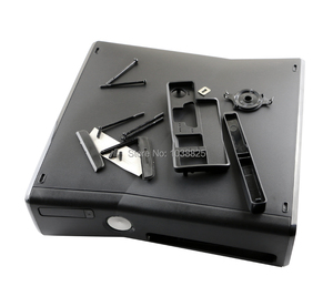 Image 2 - Full set Housing Shell Case for XBOX360 xbox 360 Slim console replacement