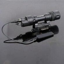 M952 M952V Тактический светильник Picatinny QD крепление СВЕТОДИОДНЫЙ светильник для оружия охотничий скаутский фонарик постоянный Мгновенный Белый выход