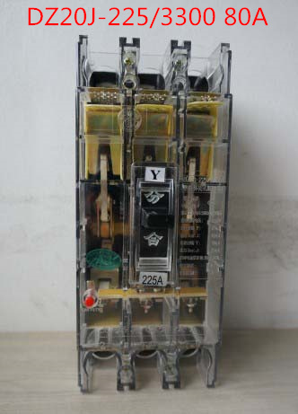Molded case circuit breaker /MCCB/ air switch DZ20J-225/3300 80A 3P variety of current optional J type