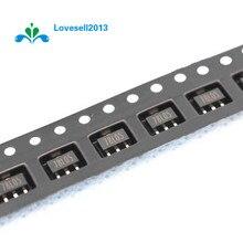 100ชิ้น78L05 L78L05 7805ควบคุมแรงดันไฟฟ้า5โวลต์100mA SOT 89 SMD