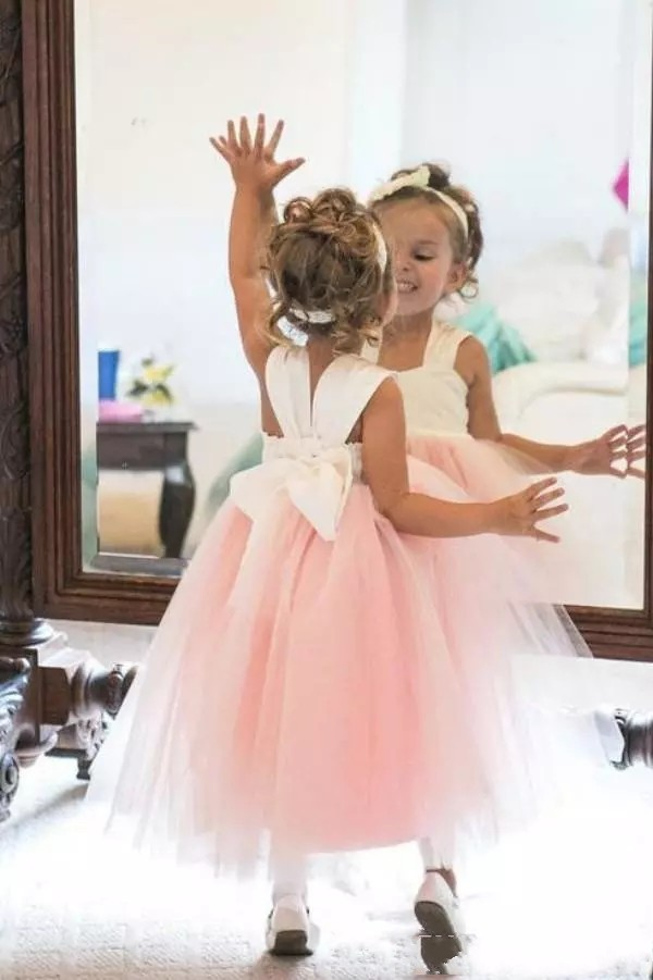 ZH0313X-Light-Pink-Puffy-Tulle-Flowergirl-Dress (1)