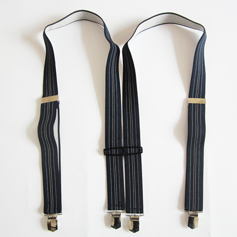 4 Clips Suspenders Man/Women Braces Adjustable Elastic Suspensorio Bretelles Hommes Y-Back Ligas Tirantes Length 120cm Bretels