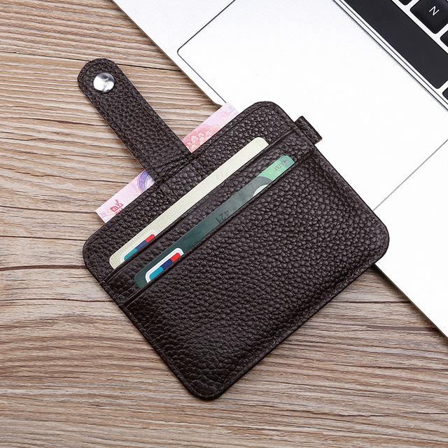 Men's Wallet + Business Card Case