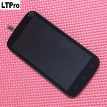 Купить онлайн Ltpro высокое качество C8815 жидкокристаллический дисплей сенсорный экран планшета сборка для Huawei Ascend G610 G610S ЖК-дисплей + TP + Рамки телефон замена