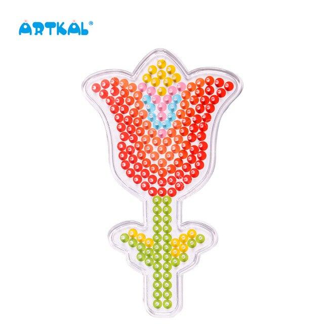 Envío libre SP18 flor patrones pegboards para hama beads perler ...