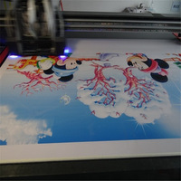 Customized Digital Synthetic PVC Leather Material Printing Process Free MOQ