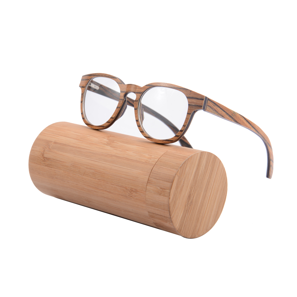 Wooden Framed Fashion Glasses : High end Fashion wooden eyewear optical frame optical ...