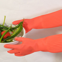 Top Sale Thicken Lengthen Gloves Durable Housework Household Glove Kitchen Wash Dishes Cleaning Gloves