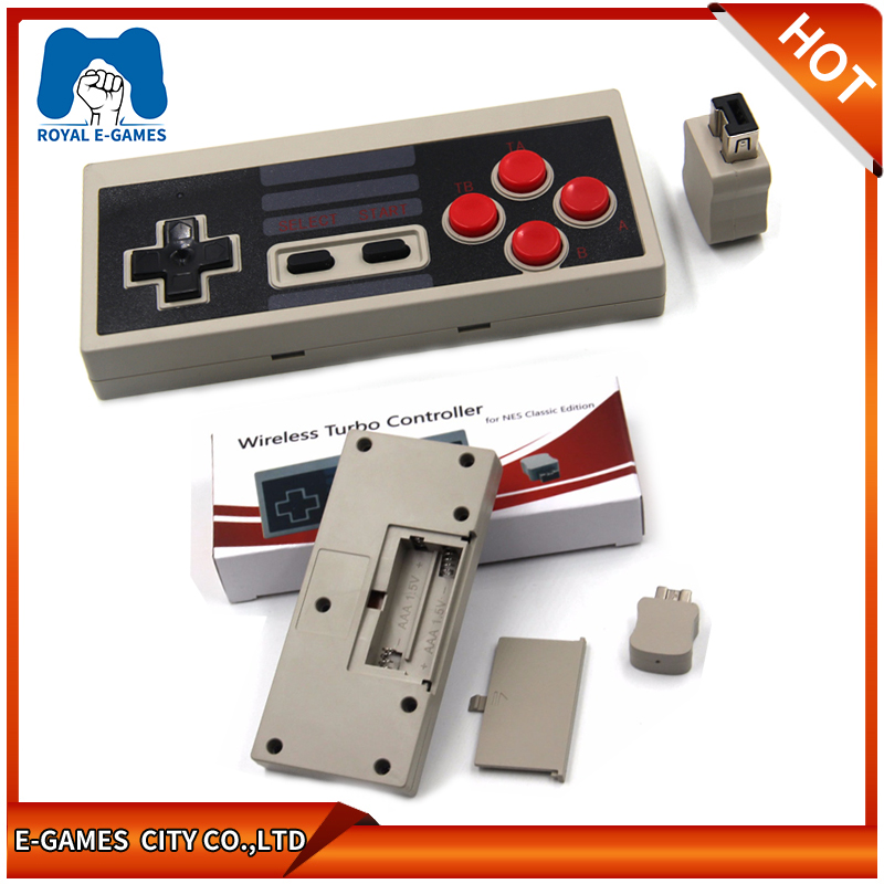 Wireless Plug And Play Gaming Controller For NES Classic Edition Gamepad For NES Mini Button Controller With Wrireless Receiver