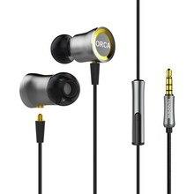 TENNMAK auriculares deportivos con micrófono, audífonos con micrófono desmontable de Metal MMCX