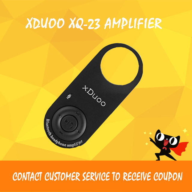 XDUOO XQ-23 headphone amplifier bluetooth amplifier player dac audio mini amp portable sport headphone amp цена и фото