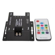 Wireless DMX Leds Dimmers 12V Bluetooth RGB LED Light Controller For Led Strip Lamps DC 5V-24V Remote Dimer
