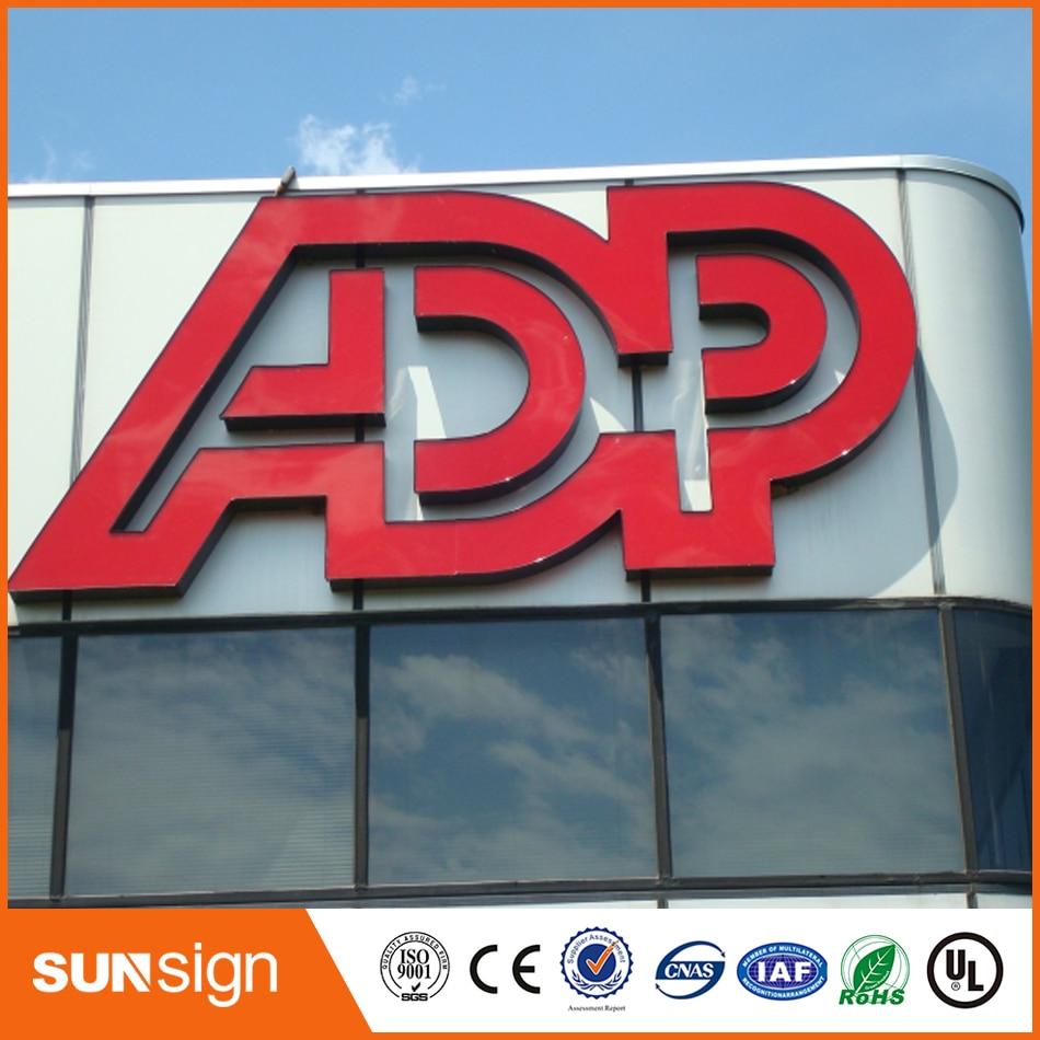 Diy Led Stainless Steel Frontlit Channel Letter Sign