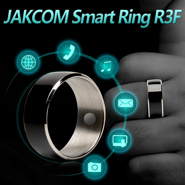 US $14 99 25% OFF|Jakcom R3F Smart Ring For High Speed NFC Electronics  Phone Smart Accessories 3 proof App Enabled Wearable Technology Magic  Ring-in