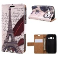 for Samsung Galaxy J1 mini prime Phone Cases Patterned Card Holder Leather Case Cover Bag for Samsung Galaxy J 1 Mini Prime
