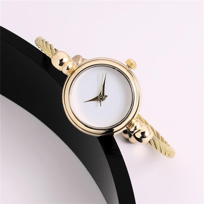 Luxury Watches Women Fashion Bracelet Quartz Wrist Crystal Watches Ladies Casual Dress Sport Watch Montre Femme39J 2016 new arrive fashion and casual ladies watches silver bracelet luxury crystal watch oem round ultra slim dress quartz watches