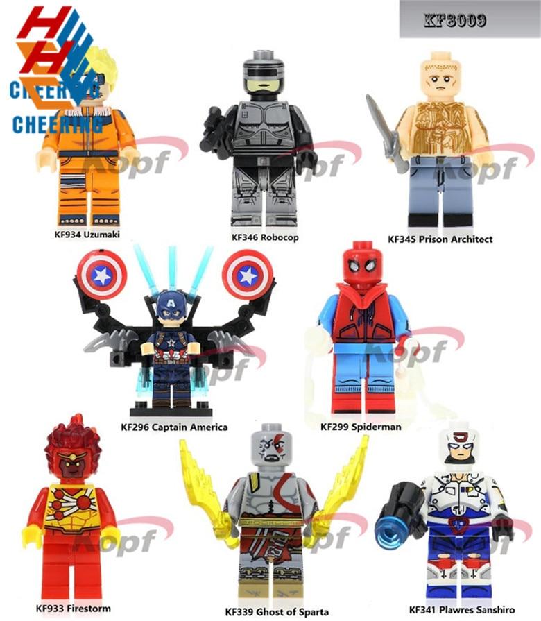 Toys & Hobbies Blocks Independent 50pcs Prison Break Godmars Voltron Team Plawres Sanshiro Ghost Of Sparta Kratos Ultimate Building Blocks Bricks Toys For Boys
