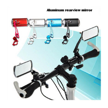 цена на High Quality Bicycle Rearview Mirror Aluminum Alloy Bicycle Rearview Mirror Bike Rectangle Mirror Bicycle Parts