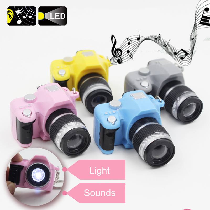 Super Little LED Camera With Light And Sounds Doll Accessories Keychain Action Figures For Barbiee Toys image