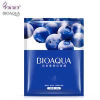 BIOAQUA natural blueberry skin whitening mask face care brighten tender skin care moisturizing makeup facial masks cosmetics new
