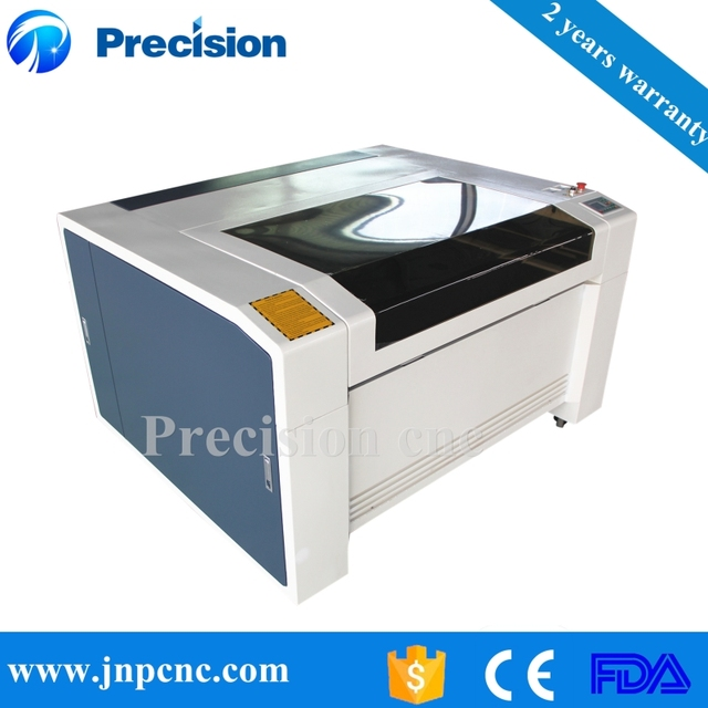 Table Top Clothing Acrylic Sheet Laser Cutting Engraving Machine With Open  Cover Protection