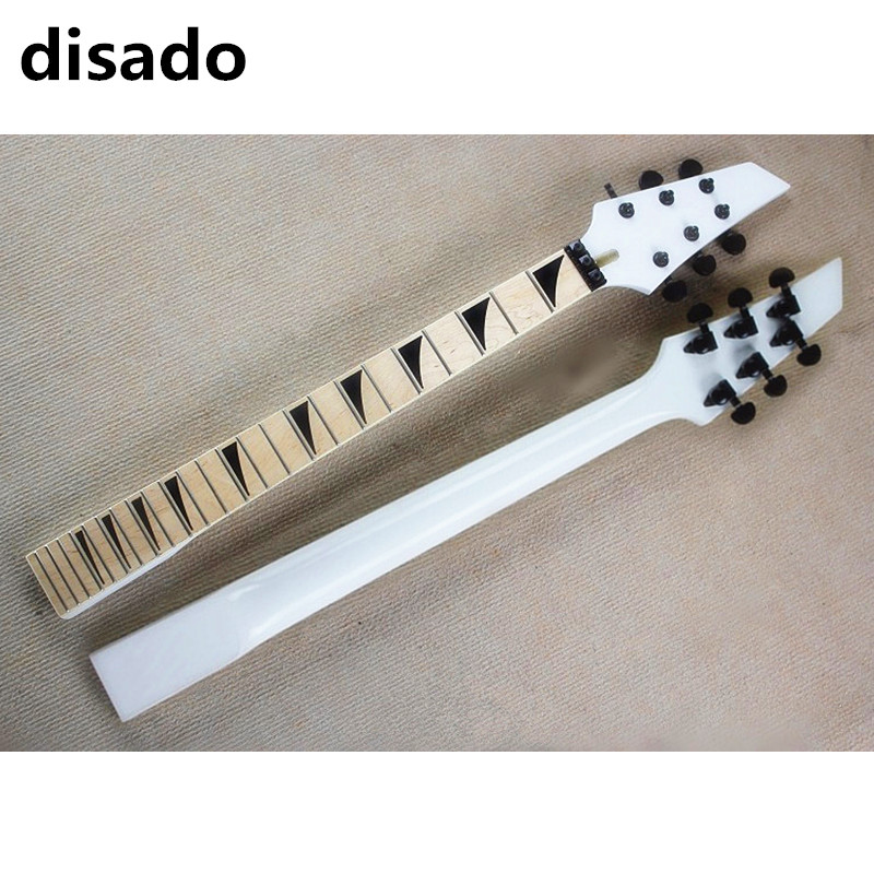 disado 24 Frets Maple Musical instruments accessories Electric Guitar Neck maple fingerboard Guitar Parts цена
