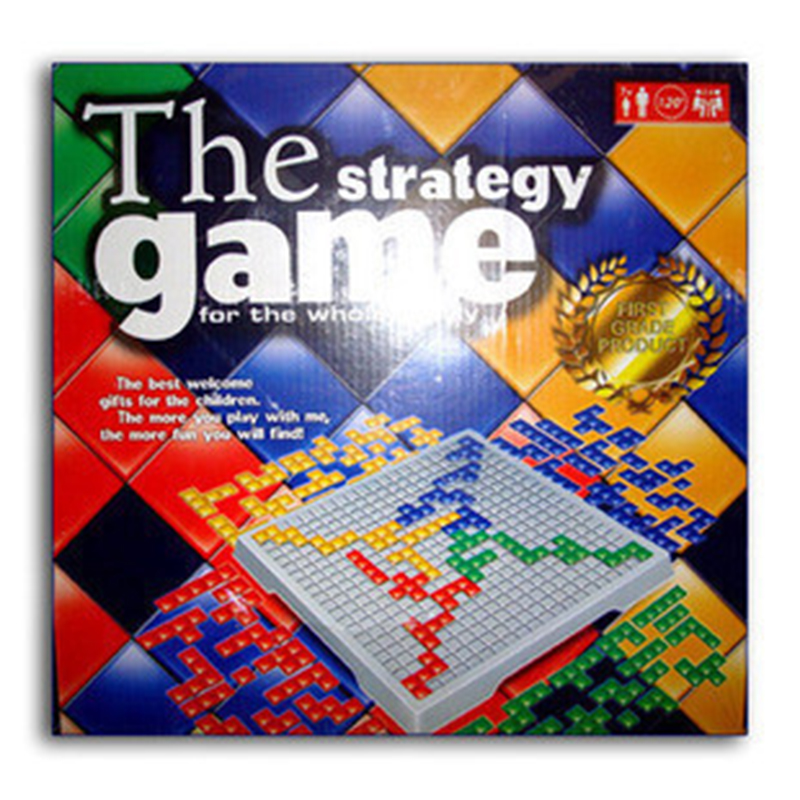 In stock Blokus Gladiatus 4 Players Strategy Chess Game Board Game Strategy Game for the Whole Family Gift HOT