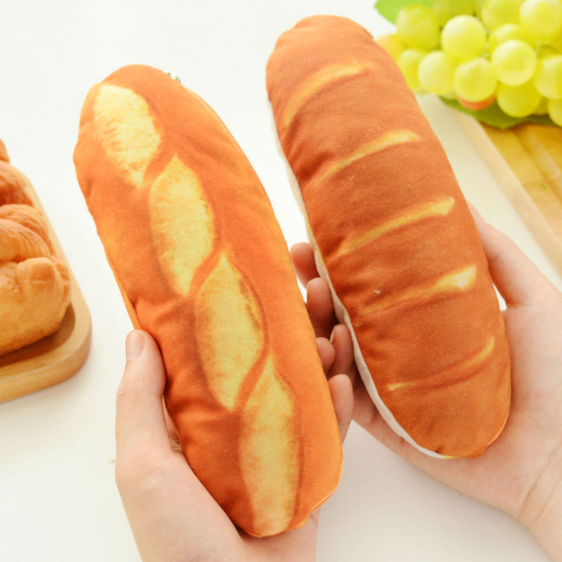 Unique Design Creative Pencil Case bread pen bag box school office supplies high quality cute funny kawaii birthday gift 007 jinhao fountain pen unique design high quality dragon pens luxury business gift school office supplies send father friend 002