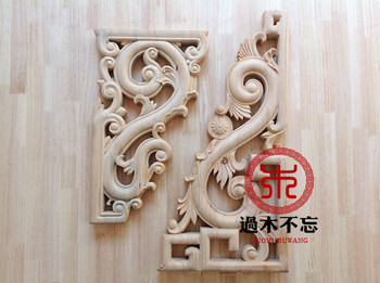 Don't forget the wooden Dongyang wood carving wood European ancient monastery corbel bracket stigma background wall decorative b