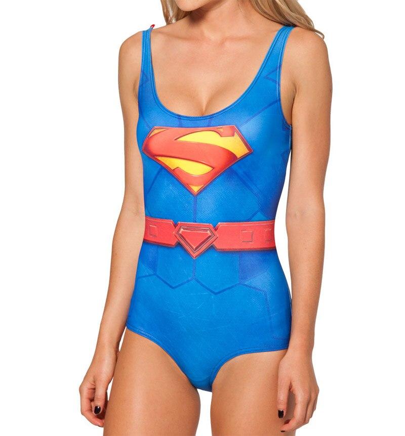 NOVINKA Sexy Dívka Summer Comic Avengers Superman superwoman 3D - Sportovní oblečení a doplňky