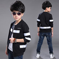 Boys Outerwear Long Sleeve O-Neck Jackets For Boys Children Clothing 4 5 7 9 11 12 Years Brand 2017 School Boys Baseball Coats
