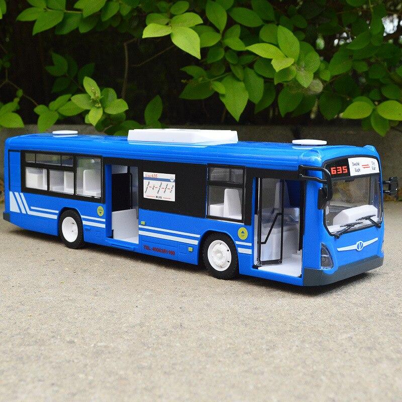Télécommande sans fil jouets enfants jouet véhicule Bus rechargeable électrique RC Bus voiture avec télécommande bébé Bus jouets cadeau