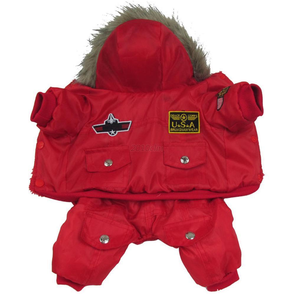 ᐅ2017 Новый Теплый камуфляж собаки пальто зимняя куртка ...