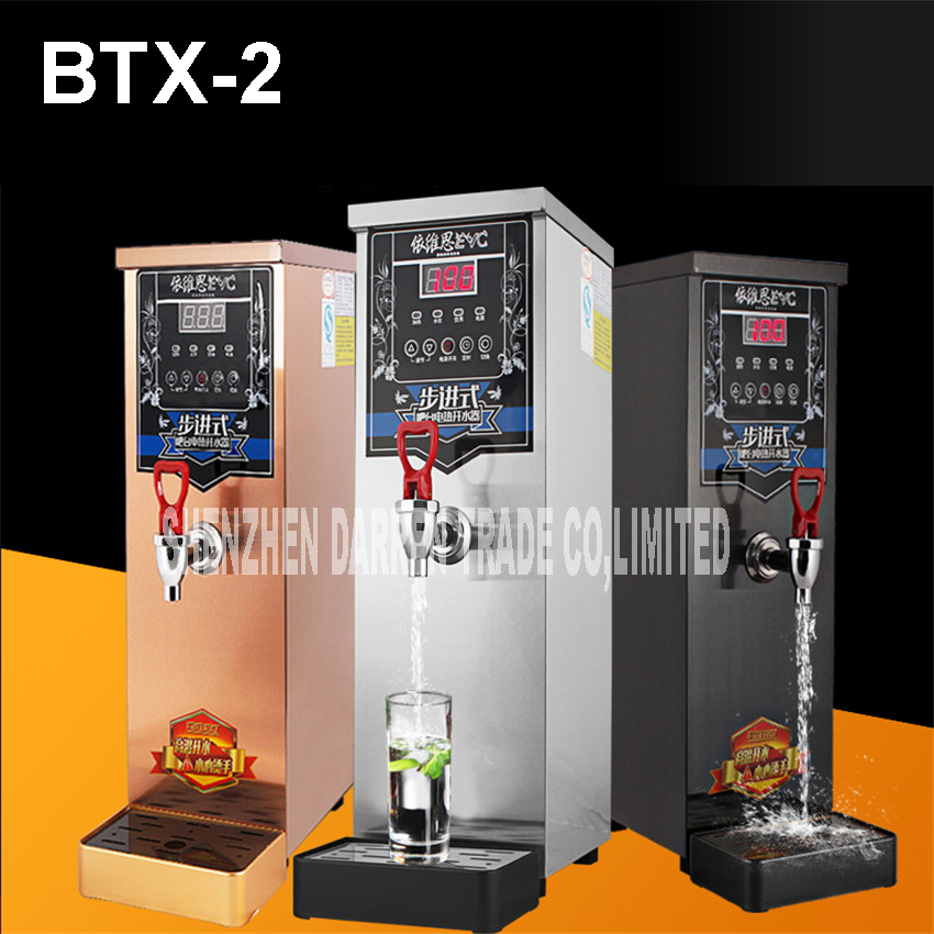 BTX-2 automatic water heater 10L electric automatic hot heating water boiler kettle tank drinking water machine 220V/110V 1 2 built side inlet floating ball valve automatic water level control valve for water tank f water tank water tower