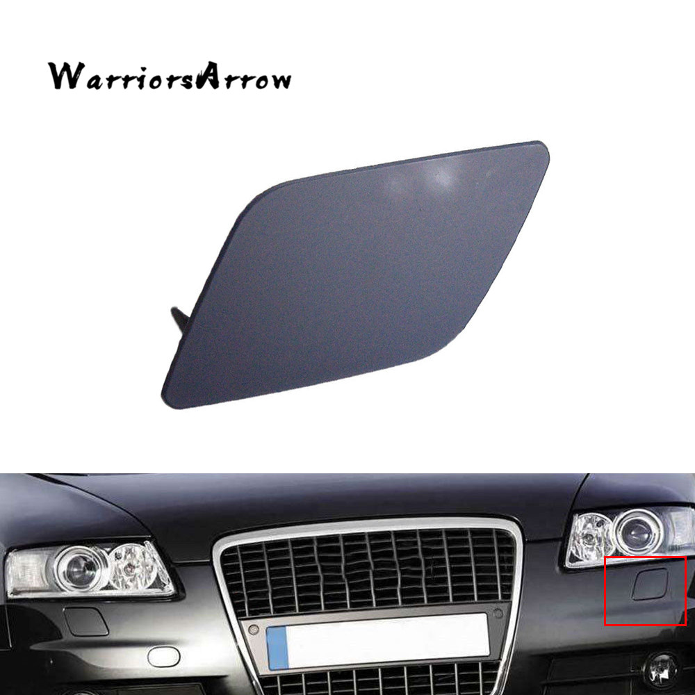 Pair Front Headlight Washer Covers Caps Hole For 2014-2015 BMW 5Series F10 F18