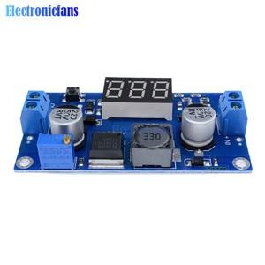 Image 5 - DC DC XL6009 デジタルブーストステップアップ電源モジュール調整可能な 4.5 32 に 5 52 ステップアップ電圧レギュレータled電圧計で