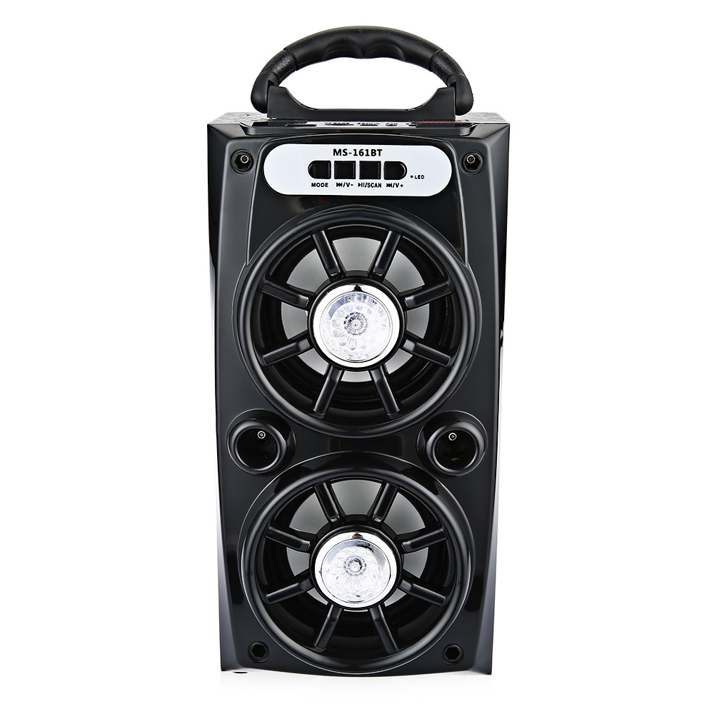 product Original MS - 161BT Portable High Power Output FM Radio Wireless Bluetooth Speaker