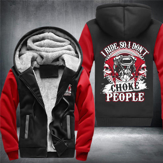 SKULL BIKER ZIP UP HOODIE JACKET (7 VARIAN)